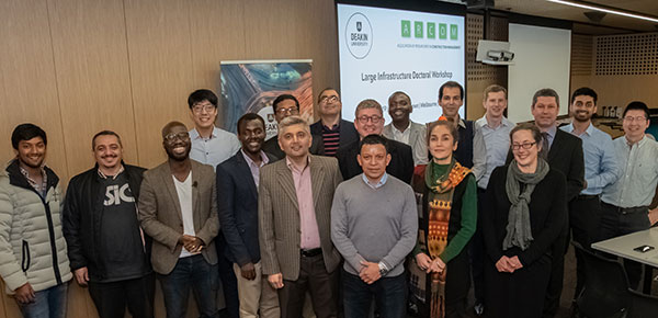 Participants of the Large Infrastructure Projects: Challenges and Opportunities Doctoral Workshop held at Deakin University, Melbourne, Australia, 2019